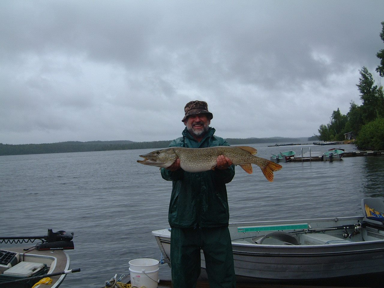 Lookout point camp northeast ontario my canada fishing for Point lookout fishing