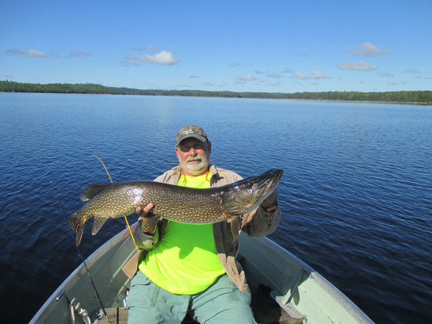 Murray lake cottages north central ontario my canada for Lake murray fishing report