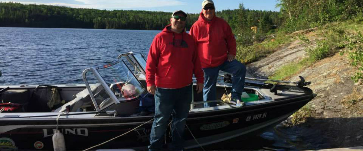 Fishing Borden Lake in June with Chapleau Lodge