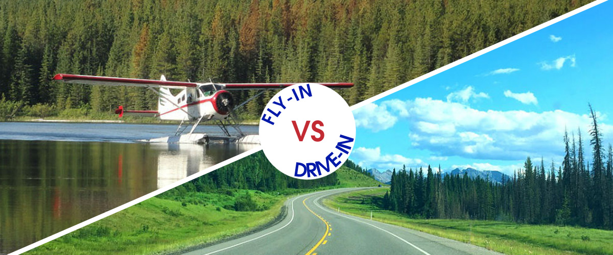Comparing the Drive-In and Fly-In Trip Experience